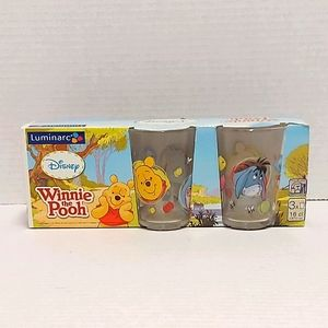 Set of 3 Disney Winnie The Pooh & friend glasses